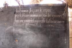 Tableau de la salle de classe