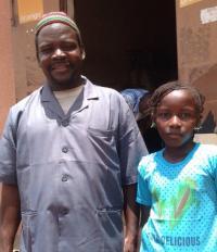 Aïssata et son père