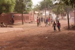 La ruelle du quartier de l'hippodrome à bamako