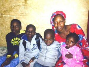 Diatourou et sa famille