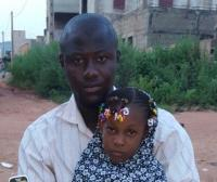 Haby et son père